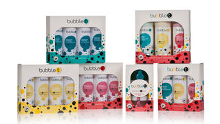 Group shot of the current Bubble T Gift Set Collection